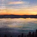 Crater Lake Sunrise by Bob Senesac