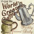Cream Coffee 1 by Debbie DeWitt