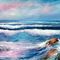 Cresting Waves by Sally Seago
