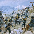 Crimean War And The Battle Of Chernaya by Italian School