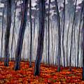 Crimson Walk by Johnathan Harris