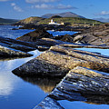 Cromwell Point Lighthouse Valentia Island by Stefan Schnebelt