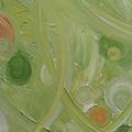 Crop Circles Yellow Analog 2 by Martha Thompson