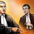 Crown Michael Carnegie Versus Defence Lawyer Dirk Derstine At The Rafferty Trial by Alex Tavshunsky
