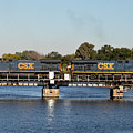 Csx On Mills Bayou by John Black