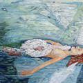 Cygnets Penn And Mermaid by Laurence Dahlmer
