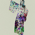 Dancing In Kimono by Naxart Studio