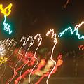 Dancing Light Streaks by Steve Somerville