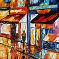 Dancing Street by Leonid Afremov