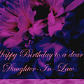Daughter-in-law Birthday Card        Chrysanthemum by Mother Nature
