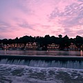 Dawn At Boathouse Row by Bill Cannon