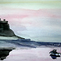 Dawn Over Lindisfarne. by John Cox
