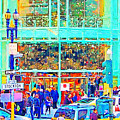 Day Before Christmas At Neiman Marcus . Photoart by Wingsdomain Art and Photography