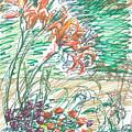 Daylillies In Spring by Valerie VanOrden