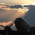 Dc-3 On Sunrise 1 by Maxwell Amaro