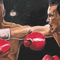 De La Hoya Vs Vargas by Kenneth Kelsoe