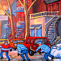 Debullion Street Hockey Stars by Carole Spandau