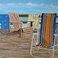 Deck Chairs by John Terry