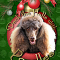 Deck The Halls With Poodles by Renae Laughner