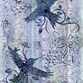 Deco Hummingbird Blue by JQ Licensing