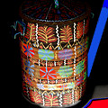 Decorated Water Barrel by Betty  Roberts