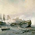 Defence Of The Havana Promontory  by Rafael Monleon y Torres