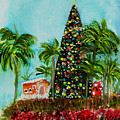 Delray Beach Christmas Tree by Donna Walsh