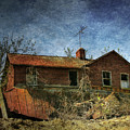 Derelict House Front by Susan Isakson