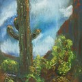 Desert Sentinel by Marilyn Barton