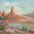 Desert Spires by Sally Seago