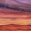 Desert Sunset by Ruth Kamenev