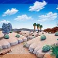 Desert Vista 2 by Snake Jagger