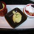 Dessert Trio by Ian Michaud