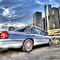 Detroit Police by Nicholas  Grunas