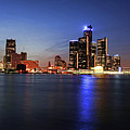 Detroit Skyline 1 by Gordon Dean II