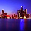 Detroit Skyline 3 by Gordon Dean II