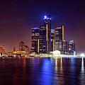 Detroit Skyline 4 by Gordon Dean II