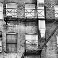 Detroit Thru Windows by Leesa Lee