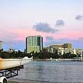 Diamond Head From Waikiki by Lorrie Morrison