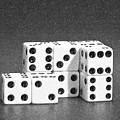 Dice Cubes II by Tom Mc Nemar