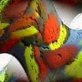 Digital Abstract World by Ilona Burchard