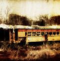 Discarded Train by Julie Hamilton