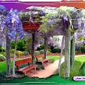 Do-00011 Wisteria Walk by Digital Oil