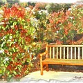 Do-00122 Inviting Bench by Digital Oil