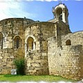 Do-00344 Church Of St John Marcus In Byblos by Digital Oil