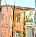 Do-00386 Old Building In Mar Mikhael by Digital Oil