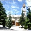 Do-00460 St Charbel Church by Digital Oil
