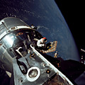 Docked Apollo 9 Command And Service by Stocktrek Images