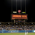 Dodgers Win by Malania Hammer