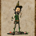 Doldhor - Leprechaun Painting  by John Junek